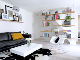 Living room by MadaM Architecture, Industrial