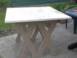 TABLE STYLE INDUS par L'ATELIER DE TILLY Industriel
