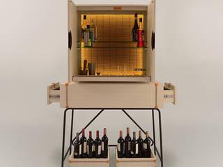 Mueble Bodega:  de estilo  por Eugenio Aguirre