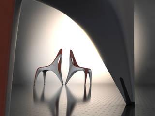 Chair Seven: modern  von ThomasCleverDesign,Modern
