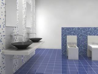 Rendering prodotti ceramici: Allestimenti fieristici in stile  di Diorama Snc