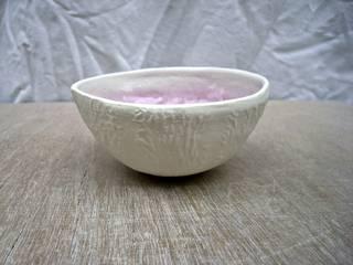 Bol melon mauve en porcelaine:  de style  par O'Erine