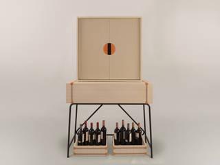 Nuevo mueble Bar FETICHE:  de estilo  por Eugenio Aguirre