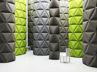 Kivo. Visual space frames with optimized acoustic shielding.:   von Alexander Lorenz (FORMKIND GmbH)