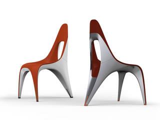 Chair Seven: industriell  von ThomasCleverDesign,Industrial