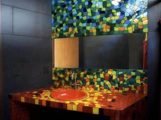 Salle de bains de style  par sanzpont [arquitectura]