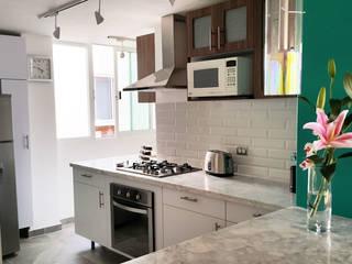 Diseño Distrito Federal Modern Kitchen