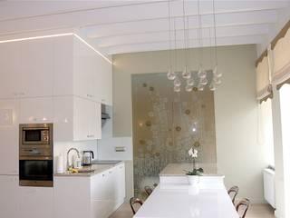 Living room by Architektura Wnętrza,