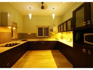 URBAN NEST Modern kitchen by Aadyam Design Studio Modern Glass