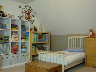Quarto infantil  por Bandon Interior Design