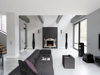 Salas de estilo moderno de Fotograf wnetrz Dymitr Kalasznikow Moderno