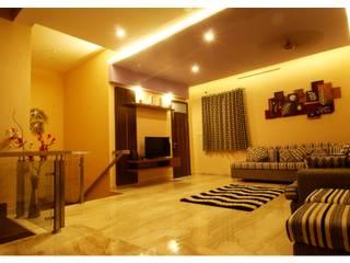 URBAN NEST Modern living room by Aadyam Design Studio Modern Marble