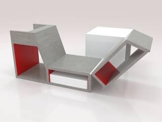 Concept chaise longue LA DEC:  de style  par timothée tibi AID