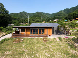 Seo-Kyeong-Dab-Ka (西景答家) Modern houses by KAWA Design Group Modern