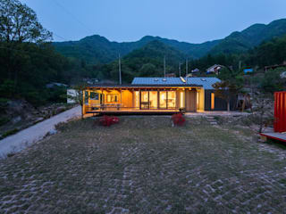 Seo-Kyeong-Dab-Ka (西景答家) KAWA Design Group Modern houses