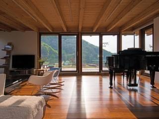 Salon de style  par KAWA Design Group,