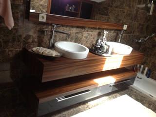 HEBART MİMARLIK DEKORASYON HZMT.LTD.ŞTİ. – Hüseyin  Aymutlu Evi:  tarz Banyo