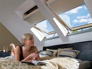 de Fakro Pivot Çatı Pencereleri Rústico