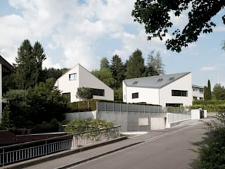 Einfamilienhäuser Weizenacher, Zumikon Moderne Häuser von René Schmid Architekten AG Modern