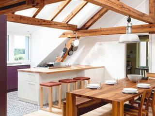innenausbau dachgeschoss Rustikale Küchen von | o.ho | die möbelschreinerei Rustikal