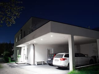privat house Royer Schladming Minimalist house by room architecture Minimalist