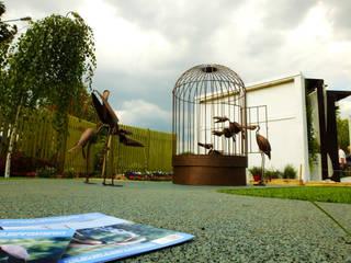 Wasserspeiende Kupfervögel von Kupferreich Kft. Ausgefallen