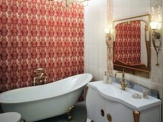 Интерьеры: Ванные комнаты в . Автор – Яникова Светлана, Классический