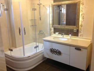 HEBART MİMARLIK DEKORASYON HZMT.LTD.ŞTİ. – Murat Yılmaz Evi: modern tarz Banyo