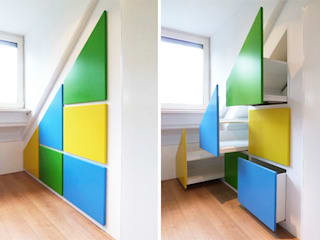 Quarto de crianças  por WEBERontwerpt | architectenbureau