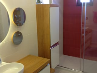 HEBART MİMARLIK DEKORASYON HZMT.LTD.ŞTİ. – Serkan Gürbüz Evi-İdealistkent:  tarz Banyo