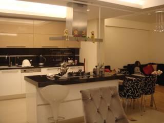 Projekty,  Kuchnia zaprojektowane przez HEBART MİMARLIK DEKORASYON HZMT.LTD.ŞTİ.