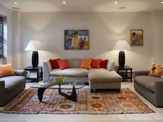 LIVING SPACE IS AND REN STUDIOS LTD Salon moderne