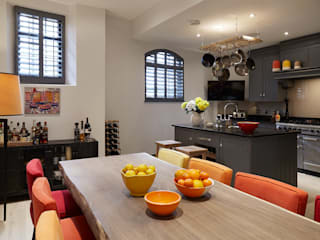 The Mews - Holland Park Comedores modernos de IS AND REN STUDIOS LTD Moderno