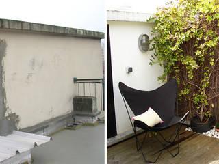 Aménagement d'une terrasse par Createurs d'interieur Aix-en-Provence