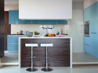 Cucina di PDV studio di progettazione Eclettico