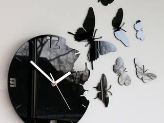 Zegar ścienny Motyle: styl , w kategorii  zaprojektowany przez ModernClock