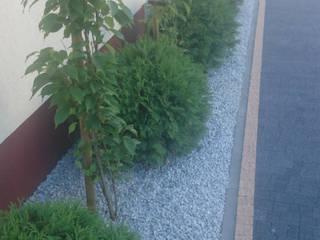 ogród przydomowy Kołczygłowy od 2o2 studio Nowoczesny