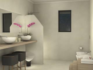 Salle de bain moderne par Valentina Cassader Moderne