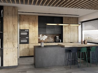 razoo-architekci Modern kitchen