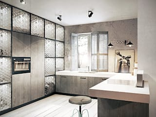 razoo-architekci Eclectic style kitchen