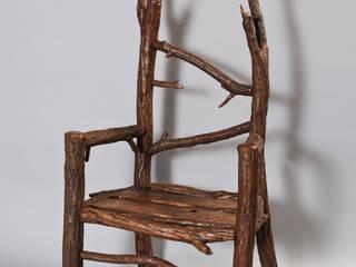 Stuhl aus Wildholz von Tuldok Ausgefallen