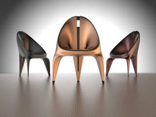 Nidoo Chair Metal Look:   von ThomasCleverDesign