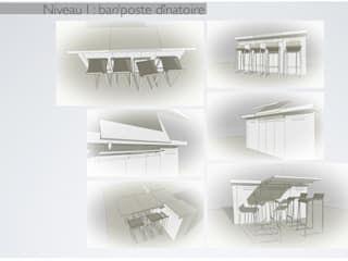 ÉTUDE PRÉPARATOIRE AVANT TRAVAUX:  de style  par Agence architecte intérieur Paris