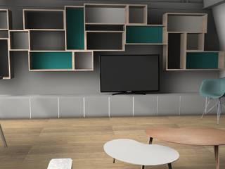 RENDU 3D:  de style  par Agence architecte intérieur Paris