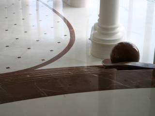 Living room by Haimerl & Wilder GmbH, Der Steinmetz