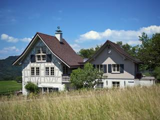 Riegelhaus in Hirzel Dr. Schmitz-Riol Planungsgesellschaft mbH Landhäuser
