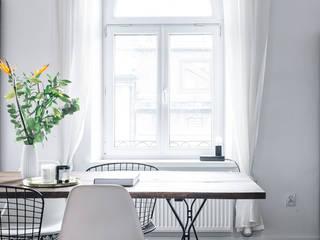 Odwzorowanie Eclectic style dining room