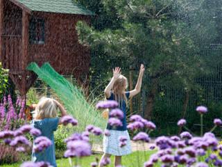 ogród horyzontalny Nowoczesny ogród od SPRING architektura krajobrazu Nowoczesny