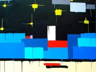 """""""Il mare sul retro II (sintesi)"""": Arte in stile  di Giuseppe Castelli - Artista"""