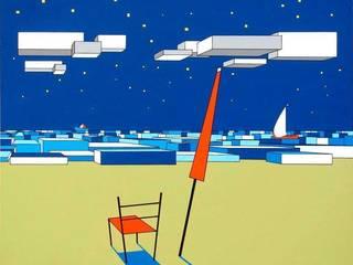 """""""Il mare sul retro VI"""" di Giuseppe Castelli - Artista Moderno"""